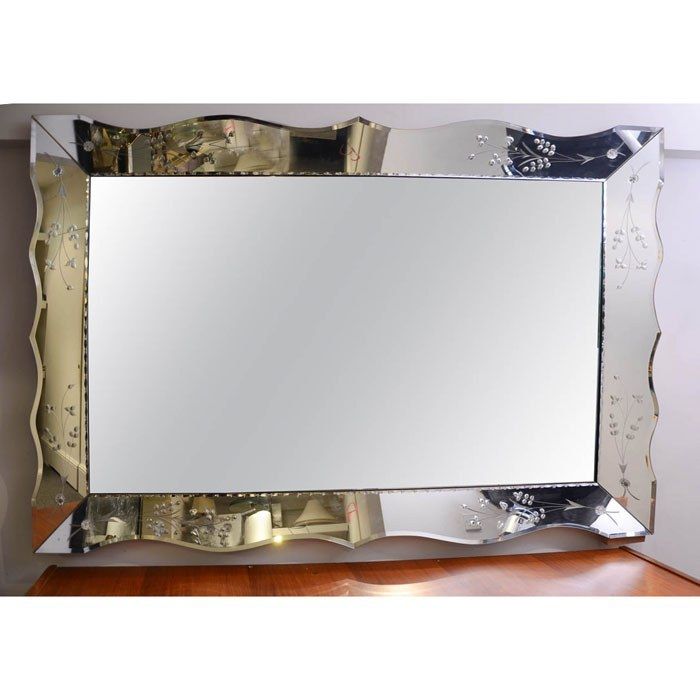 Valerie Wade Mw236 1950S French Rectangular Mirror 02