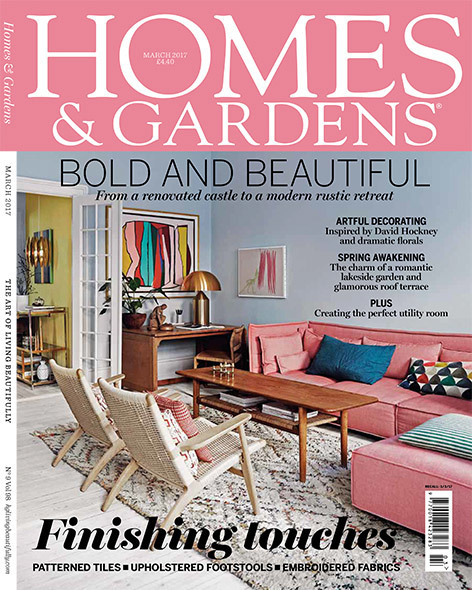 Valerie Wade Press Homes And Gardens Cover