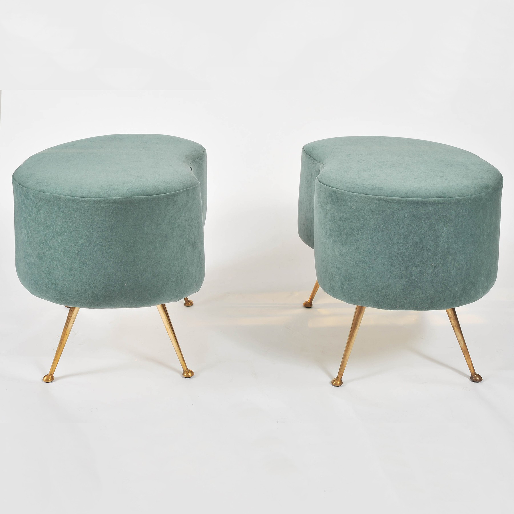 Valerie Wade Two Upholstered Stools 01