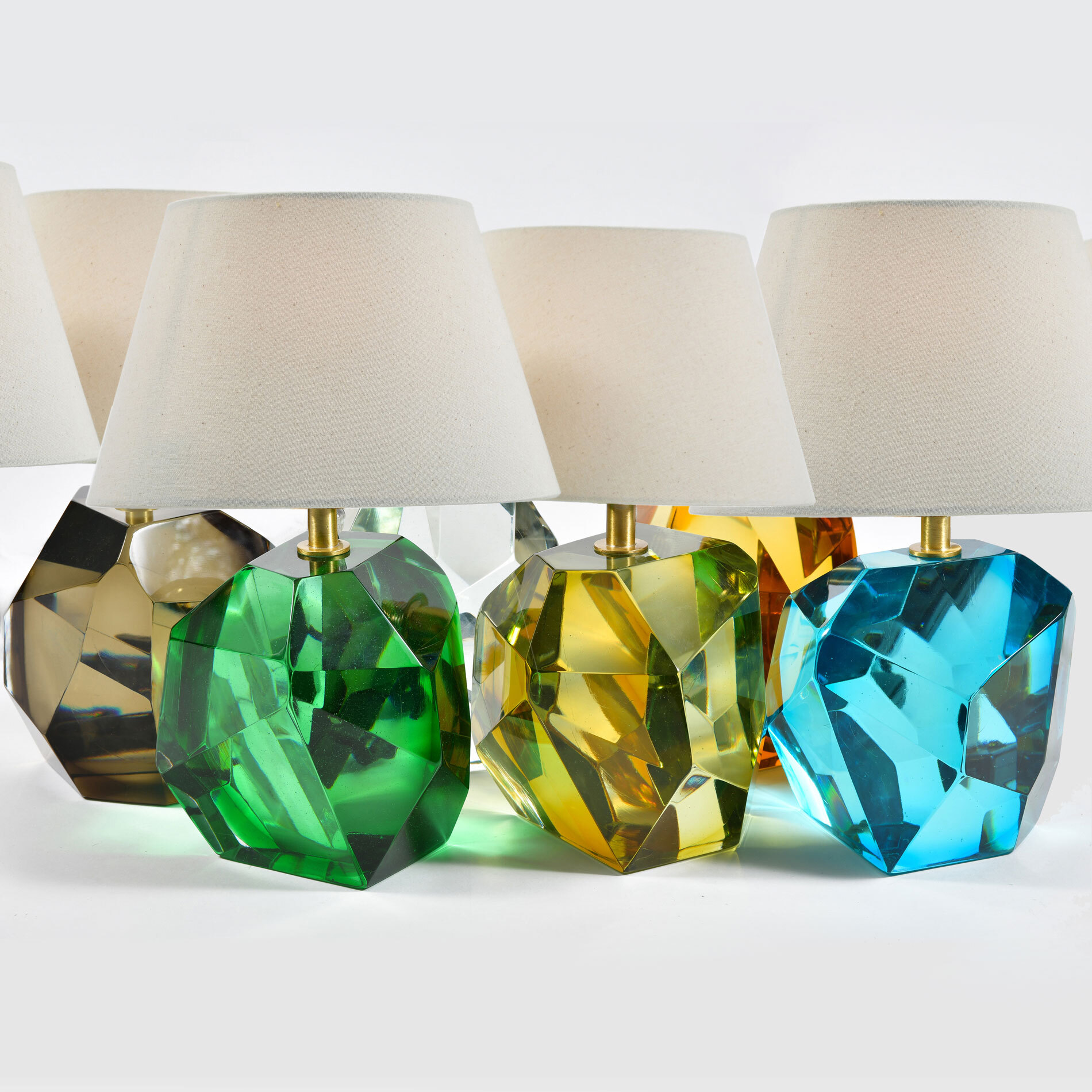 Variety Of Rock Lamps 01
