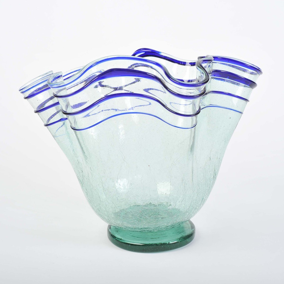 Wave Glass Vase Ii