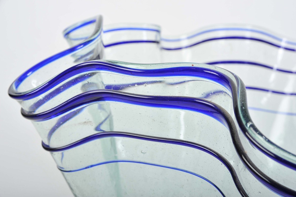 Wave Glass Vase Iv
